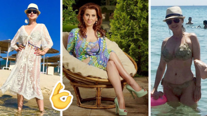 Илиана Раева вдъхновява от Гърция: показа перфектно тяло и на 56 години!