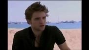 Robert Pattinson talks about New Moon (new Interview) Hq