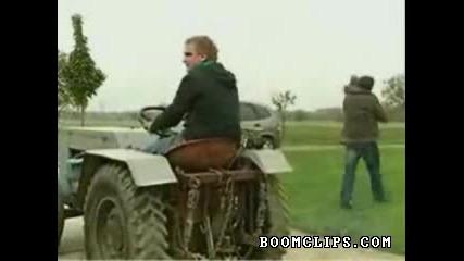 Разходка с трактора