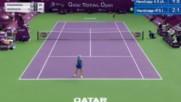 Wta 2017 Doha Agnieszka Radwanska vs Caroline Wozniacki