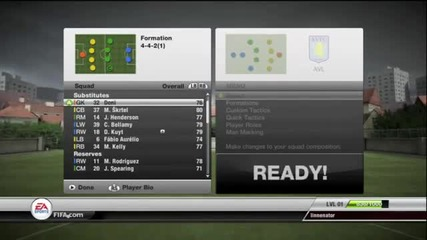 Fifa 12 Лицата от отборите Chealsea,united,real Madrid,tottenham,liverpool,aston Villa + як гол *hd*