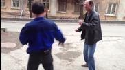 """Ето как Пияните """"нинджи"""" си решават проблемите на улицата!"""