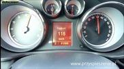 Opel Insignia 2,8 V6 Turbo - 0-200 км/ч