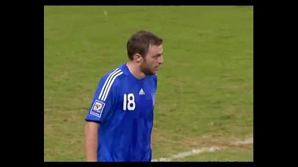 Смешен авто гол (greece vs. Luxembourg - Qualifiers 2010)
