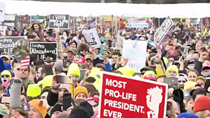 USA: Trump pledges support for anti-abortion movement at March for Life rally