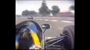 Jonny Dumfries onboard Adelaide 1986
