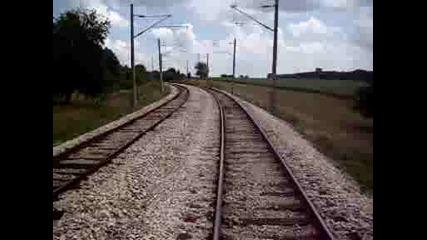 Разминаване с влак 20152 на км.343+400