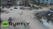 Russia: Drone captures ex-Soviet military bunker complex based in Crimea