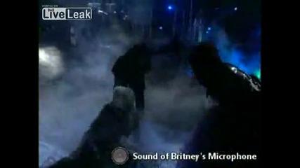 Britney Spears пее с истинският си глас - Излагация