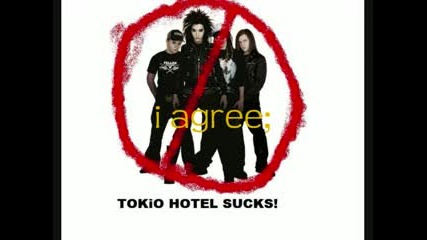 Anti Tokio Motel..xaxaxa
