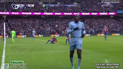 Manchester City 3:0 Crystal Palace (20.12.2014)