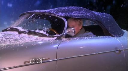 Ellen в видео на Джъстин Бийбър Превод - смехът е сигурен