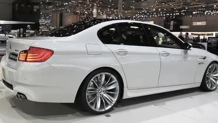 Bmw M5 F10 in showroom