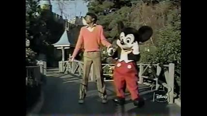 Michael Jackson at Disneyland [mega Rare]