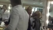Ana Brenda bailando con Sebastin Rulli