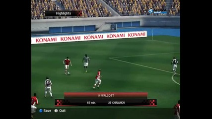 [ Pes2010 ] Arsenal - West Bromwich 4:0 [ Pes2010 ]