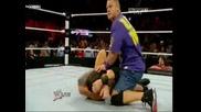 Wwe Raw 22.11.10 Randy Orton vs Wade Barrett - Wwe Championship + The Miz Cashes In