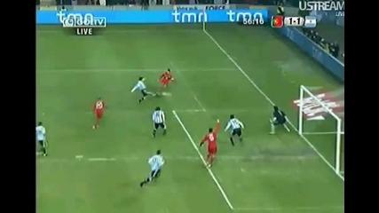 Невъзможен пропуска на Алмейда - Португалия [ 1:2 ] Аржентина
