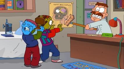 Брейн Демидж (Brain Damage) - епизод 10 - Зомби апокалипсис