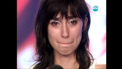 X-factor Стела Петрова изумява журито с изпълнението си !