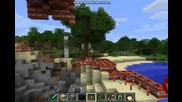 Голяма Tnt експлозия в Minecraft!
