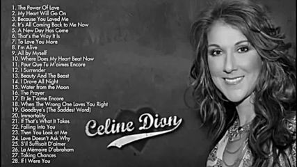 Celine Dion Greatest hits full album new 2017