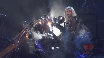 "Lady Gaga – Hair / Коса (""iheartradio"" music festival 2011) [+ Превод]"