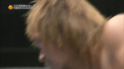 Aj Styles с/у Tetsuya Naito Njpw G1 Climax 2015