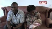 В семейство на негри се роди бяло дете