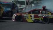 the Big One Strikes at the Sprint Unlimited - 2015 Nascar Sprint Cup - Youtube