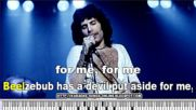 "Freddy Merkury & ""queen"" Bohemian Rhapsody karaoke & lyrics. Best software for Pc,"