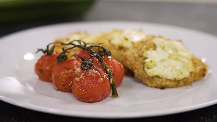 Свинско с маскарпоне и запечени чери домати | Бон Апети | 24Kitchen Bulgaria