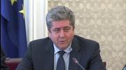 Първанов: Не смятаме да играем ролята на петото колело в тази четворна коалиция