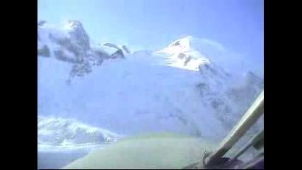 Полет Над Швейцарските Алпи