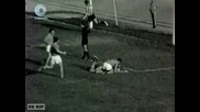 Агитка на Цска от средата на 60-те на мач с Ботев в Пловдив