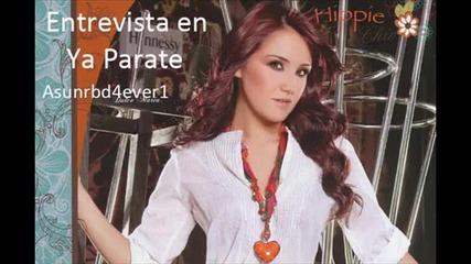 Dulce Maria entrevista en Ya Parate - Parte 2