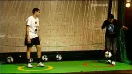 Cesc Fabregas Show Ball Control Challenge
