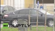 Russia/Estonia: Prisoner exchange occurs at border over Piusa River