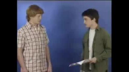 Mat Waters Daniel Radcliffe - December Boys Test 2