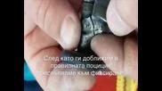 Залеппване на част от шевна машина Сингер