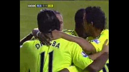 Челси - Рединг 2:0 Франк Лампард Гол