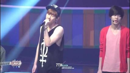 [fancam]120629 Music Bank rehearsal - Ver.
