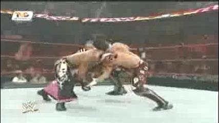 Wwe Raw Rey Mysterio vs Evan Bourne
