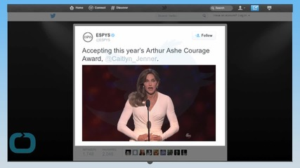 Caitlyn Jenner Receives ESPY Award for Courage