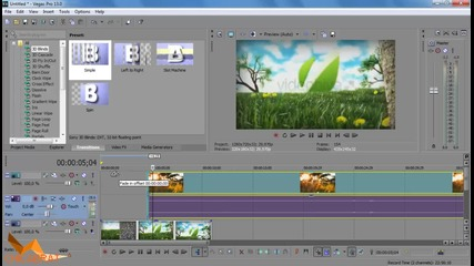 Как да сложим видео върху - Sony Vegas Pro 13 Tutorials Eпизод 7
