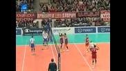 Цска се класира в следващата фаза на Шампионската Лига по волейбол след победа с 3 - 1 над Зенит