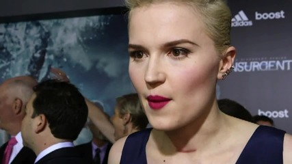 Insurgent Premiere NYC: Veronica Roth