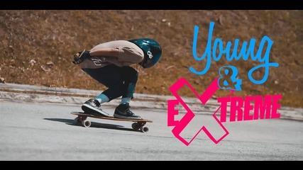 The Downhill Skateboarder: It's dangerous, but I love it