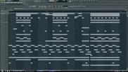 Hard aggressive Hip - Hop Rap Gangsta Instrumental (fl Studio)
