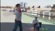 Много добър тенесист с луди номера